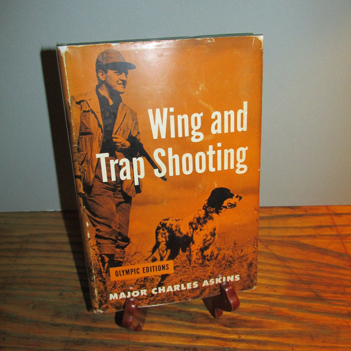 """Vintage Sportsman's Book """"Wing and Trap Shooting"""" by Major"""