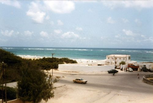 UN Beach Club Mogadishu 1980s