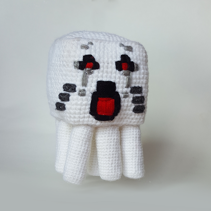 Minecraft Amigurumi Ghast | Amigurumi | Pinterest | Amigurumi and ...