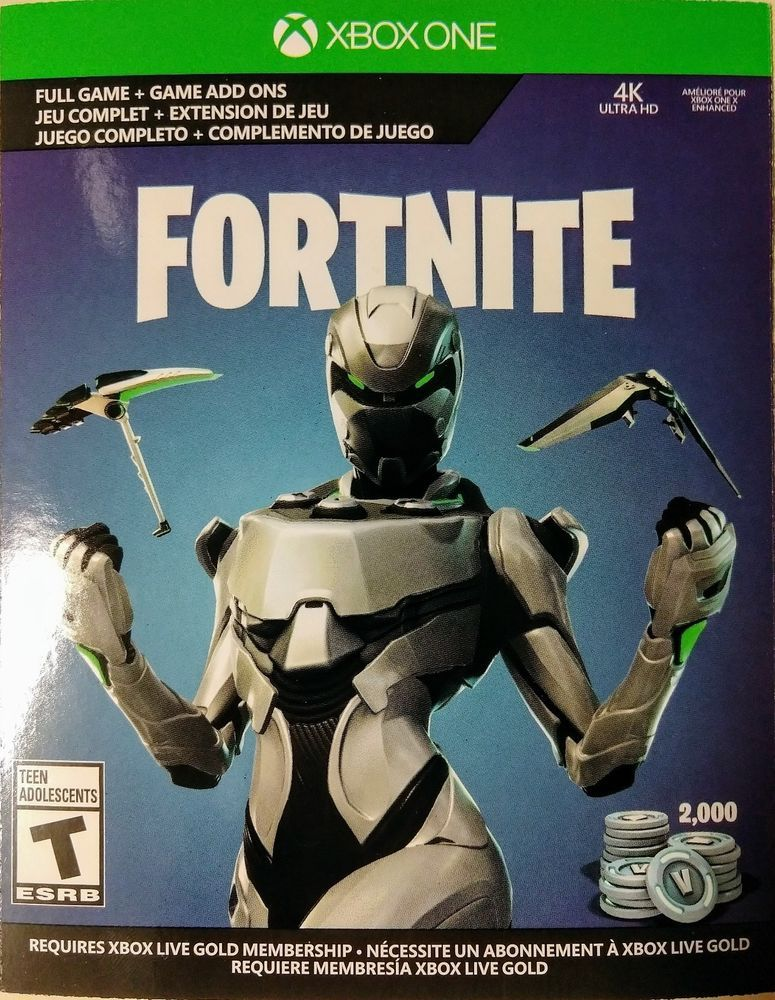 Xbox One Exclusive Fortnite Eon Cosmetic Set Game Download And