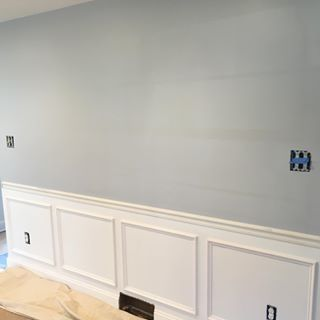lazy gray paint color sw 6254 by sherwin williams view. Black Bedroom Furniture Sets. Home Design Ideas