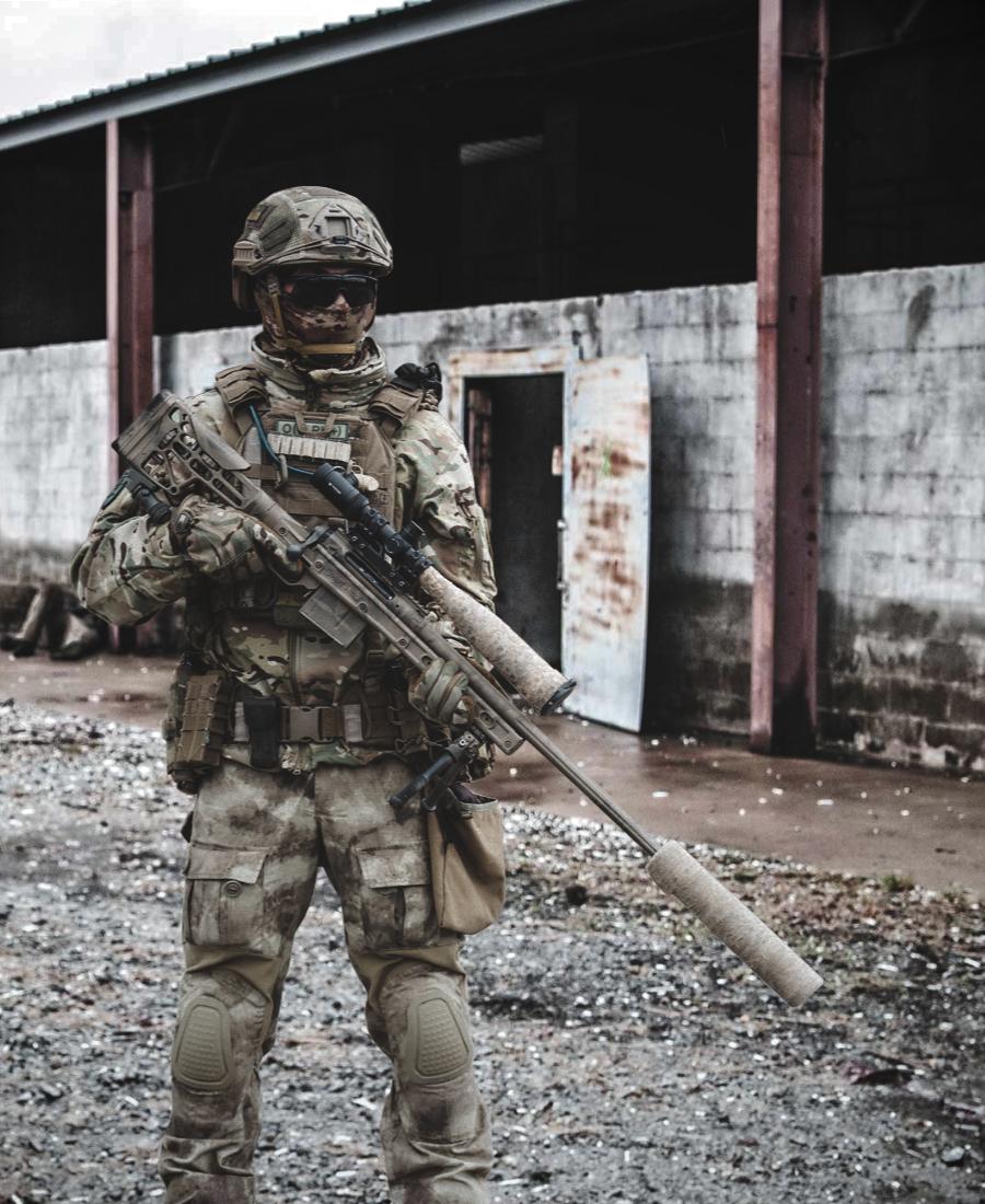 Ukrainian SOF sniper with Savage 110 [900x1100] | Hunting