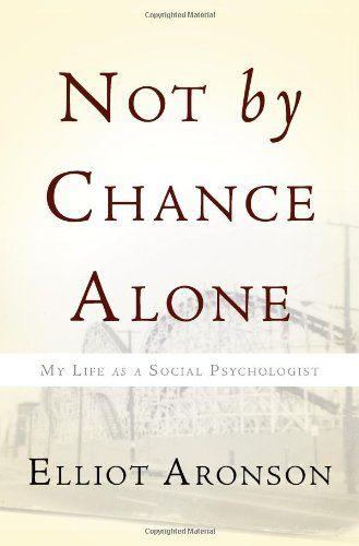 A memoir of a social psychologist    BOOKS I'VE READ IN 2013