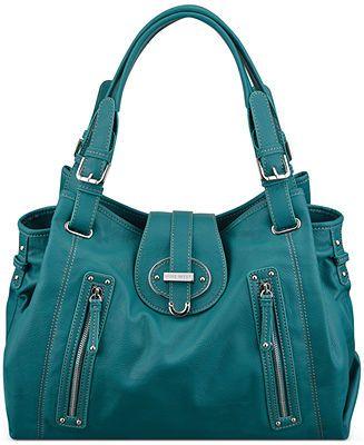 Nine West Handbag Zipster Medium Satchel Handbags Accessories Macy S