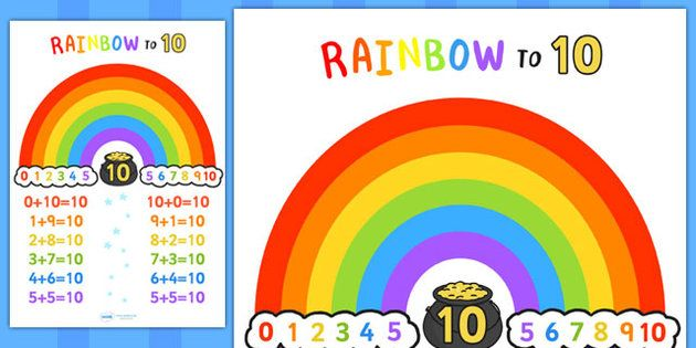 Rainbow number bond free worksheet rainbow to ten display poster rainbow number bond free worksheet rainbow to ten display poster number bonds ibookread Download