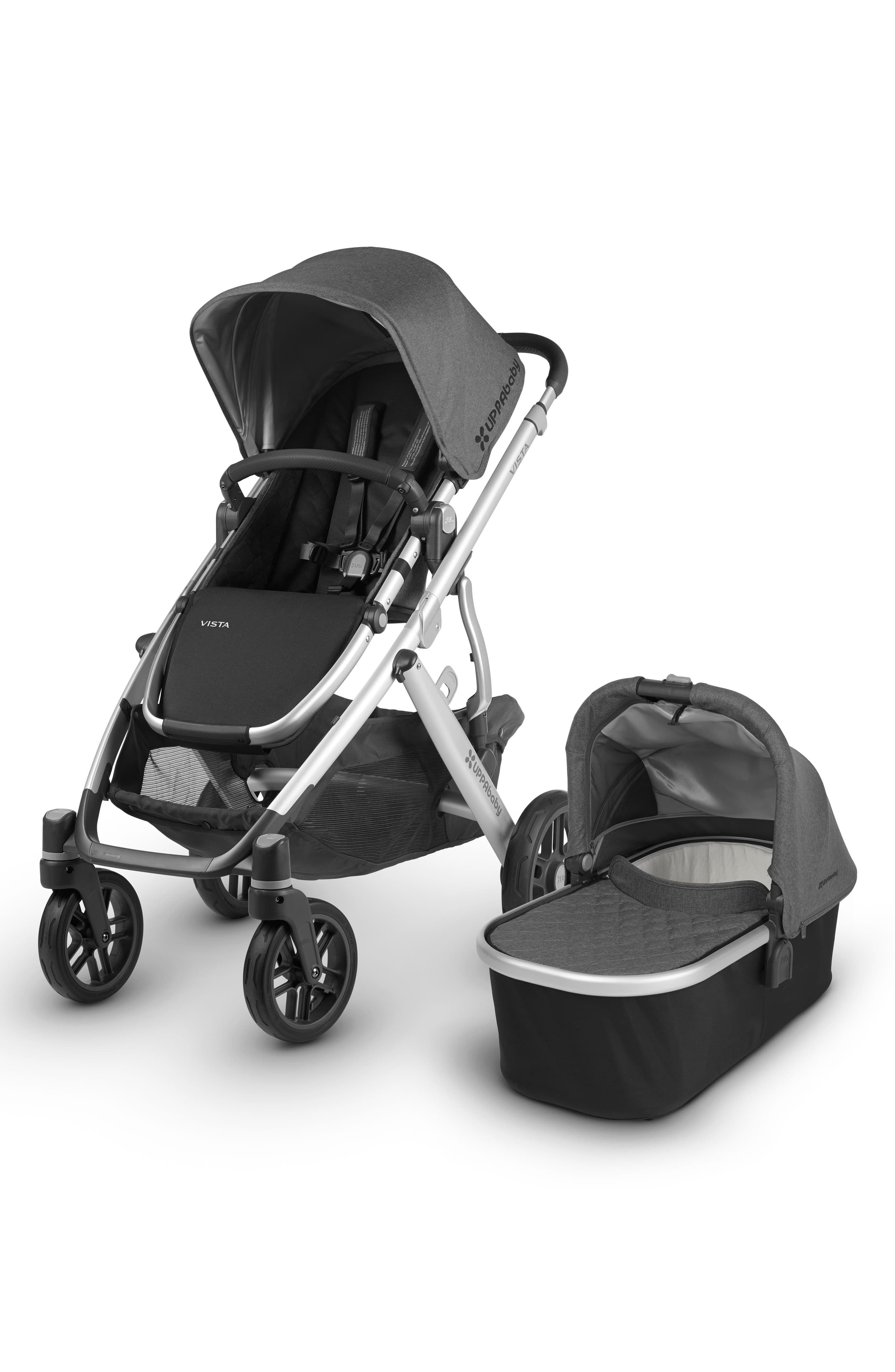 UPPAbaby 2018 VISTA Aluminum Frame Convertible Complete