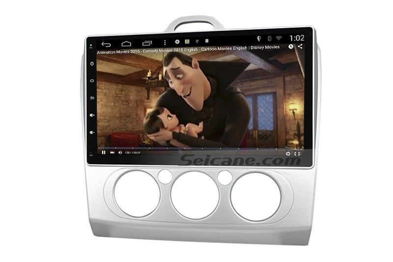 10.2 inch oem android 4.4 radio 2004-2011 ford focus mk2 manual air