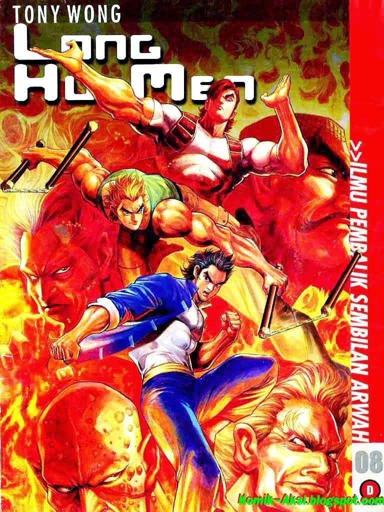 Komik Action Long Hu Men Ch. 8 Men, Anime comics