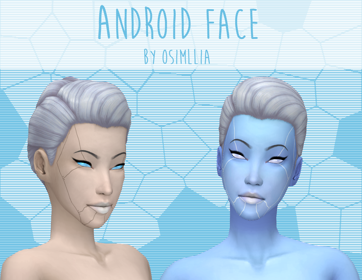 Lana Cc Finds Osimllia Here S A New Android Themed Face Tattoo Sims 4 Tattoos Tumblr Sims 4 Sims 4 Posting the best of the best sims 4 custom content! pinterest