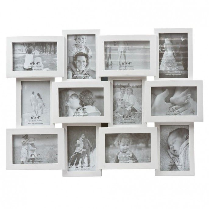 this large multi frame is the ideal way to display all your cherished memories in one place - Multi Photo Frame