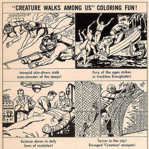ronaldcmerchantthe CREATURE WALKS AMONG US (1956