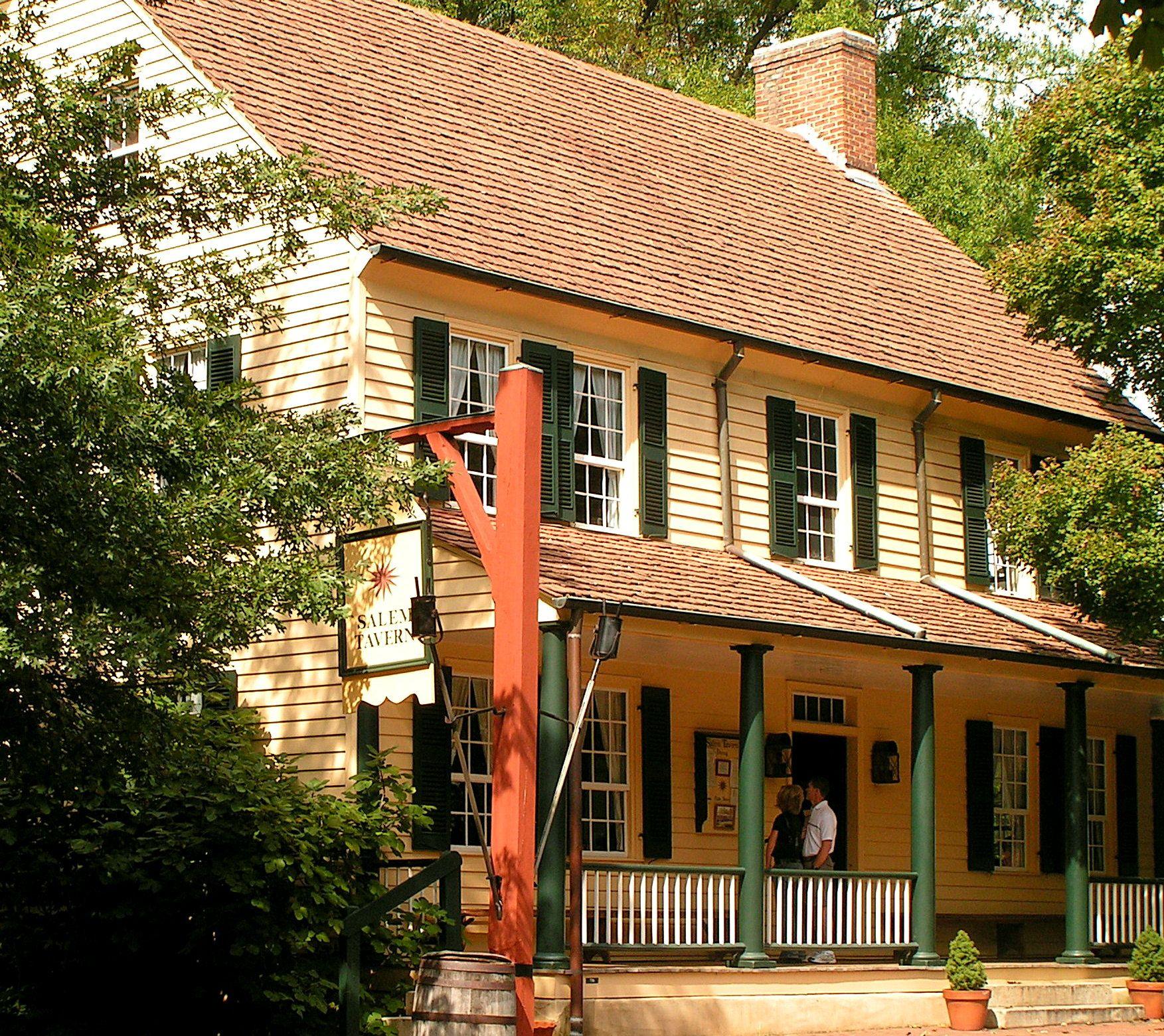 Modern Homeexterior Design Ideas: Old Salem - Street Scene - Photo Taken 2007.