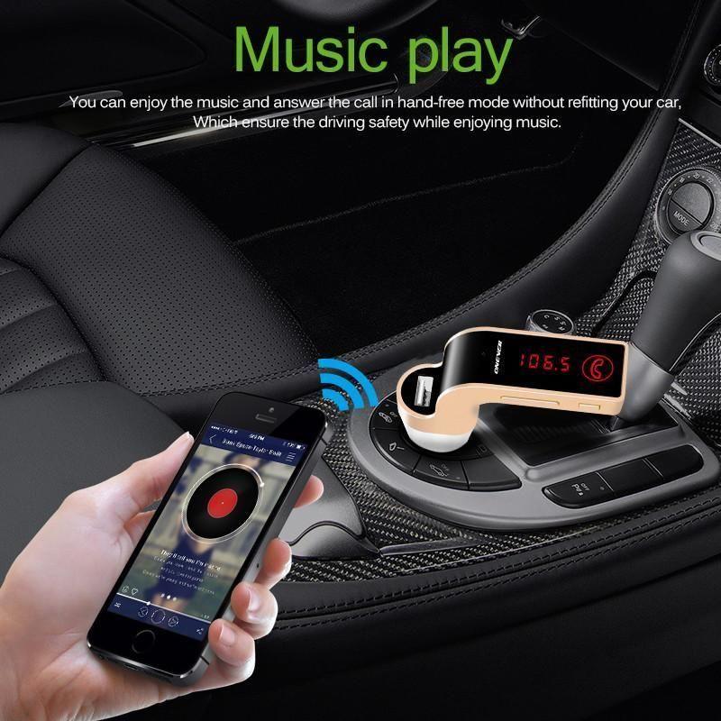 4 In 1 Handfree Wireless Bluetooth Fm Transmitter Car Kit Mp3 Lcd Display Usb Tf Microphone In 2020 Fm Transmitters Bluetooth Car Kit Usb Mp3 Player