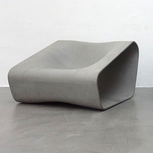 Rainer Mutsch crates contemporary weather resistance furniture design for front yard lounger concept or even for cute park sitting lounge design. This outdoor cement furniture design by Rainer Mutsch gives gray stone color before any furniture color adjustment is done. This furniture is called Dune and may become appropriate furniture for beautiful patio pictures with good shape of contemporary outdoor furniture in chic stone color design.