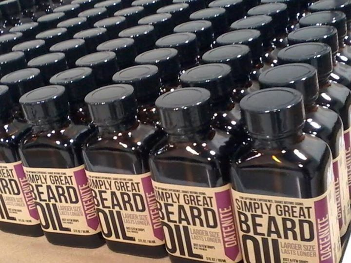 Looks like people are stocking up on our Datenite Beard Oil for Valentine's Day! Not a bad plan, eh? Spruce up your beard for the big day or grab some as a gift for your bearded beau here: bit.ly/1mG1Q8s