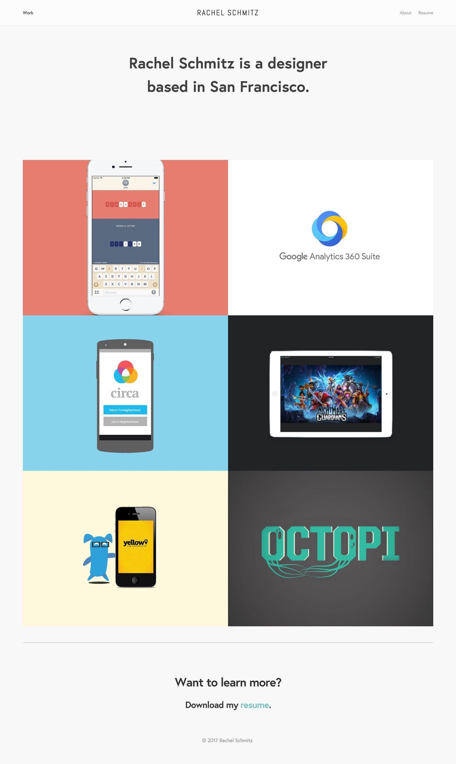 10 Amazing Portfolio Websites from Google Designers
