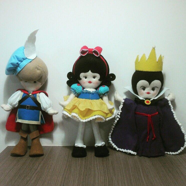 Príncipe, Branca de Neve e Rainha Má