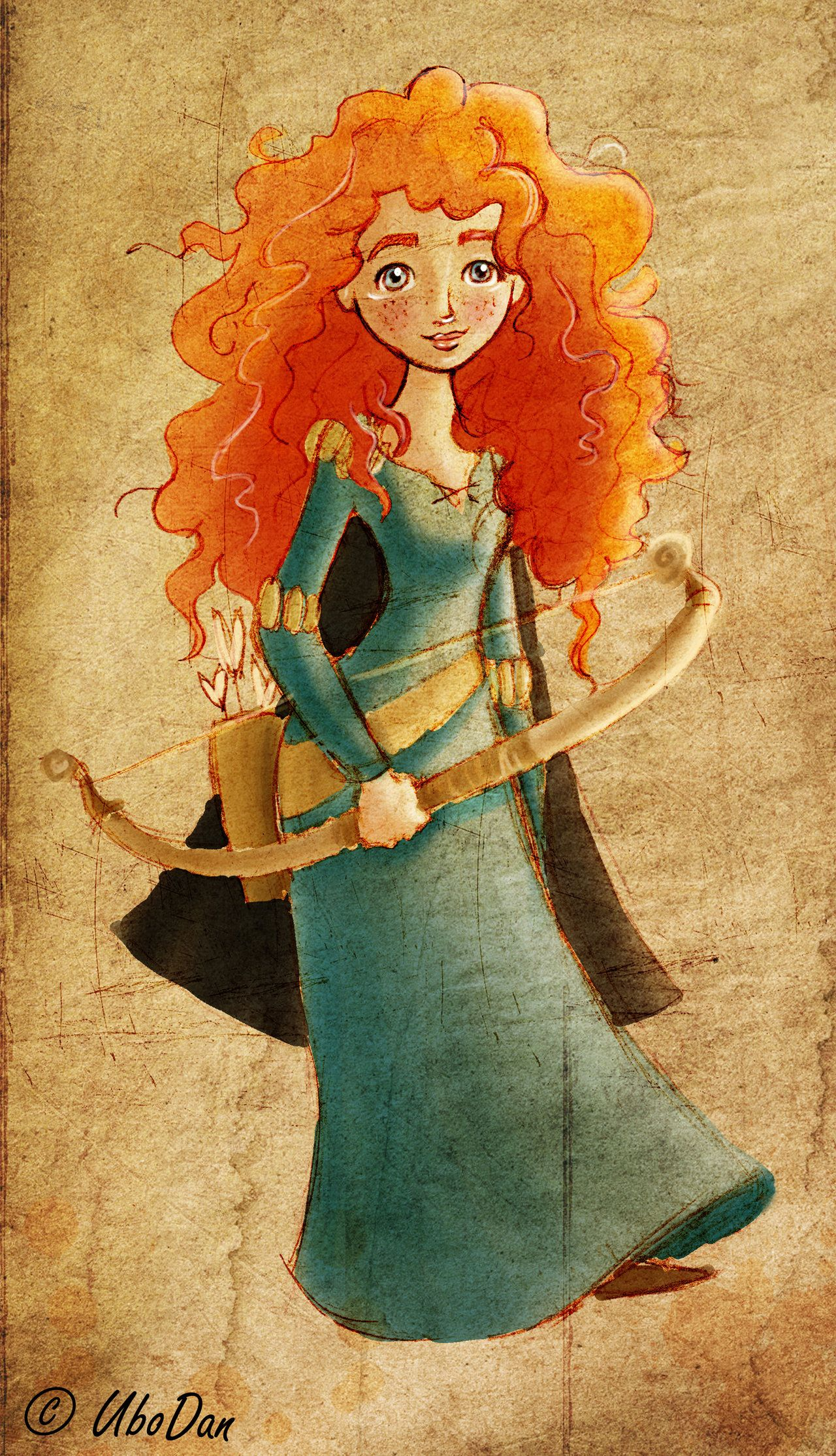 Princess Merida Ubodan Deviantart Disney Stuff Brave