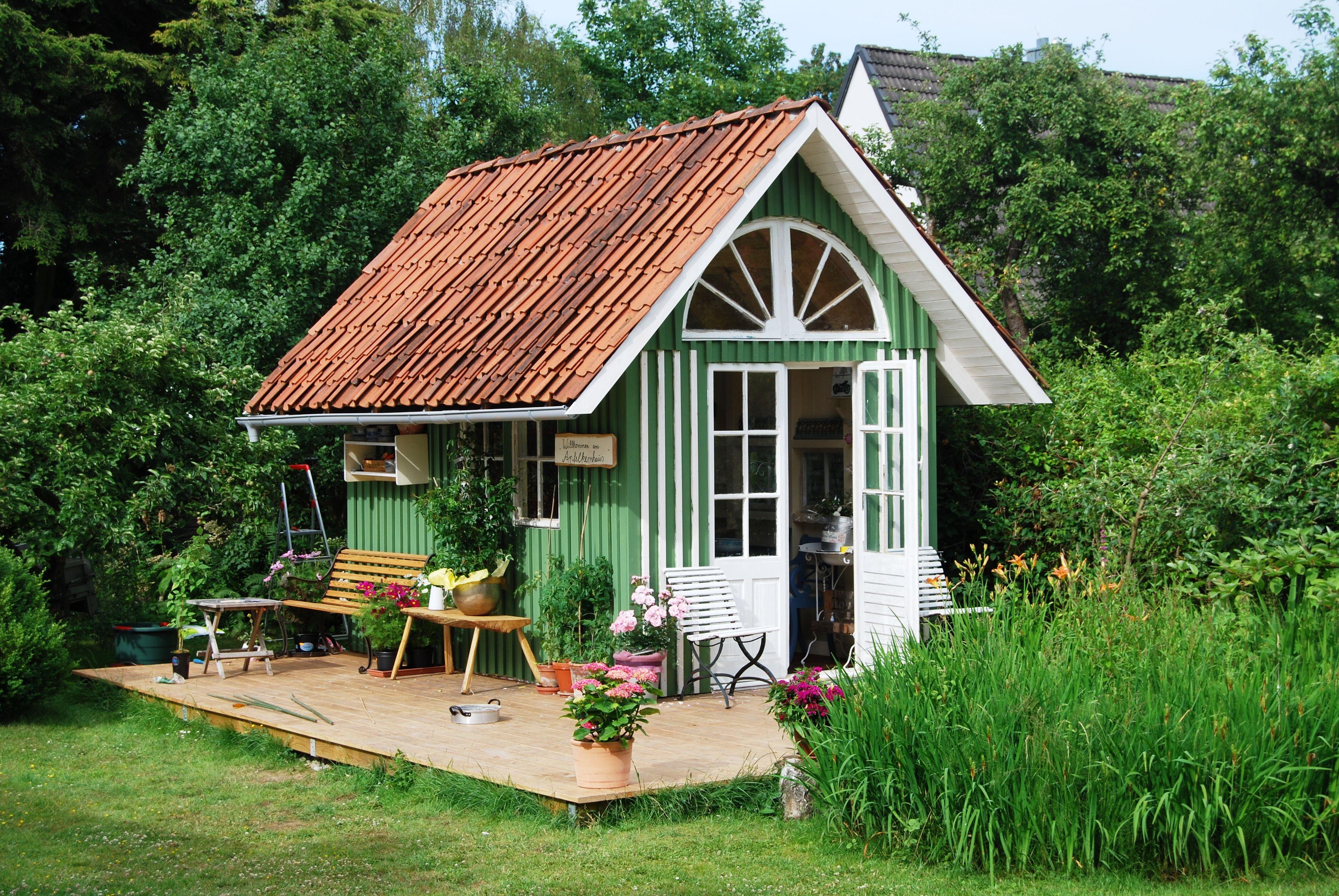 gartenhaus im alten stil apfelkernhaus gartenh user. Black Bedroom Furniture Sets. Home Design Ideas