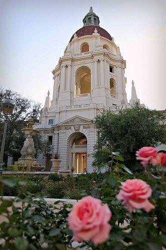 City Of Roses Pasadena City Hall Pasadena California Pasadena