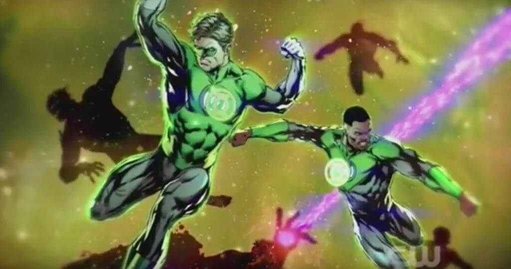 What We Learned From The Dawn Of The Justice League Green Lantern Corps Green Lantern Green Lantern Hal Jordan