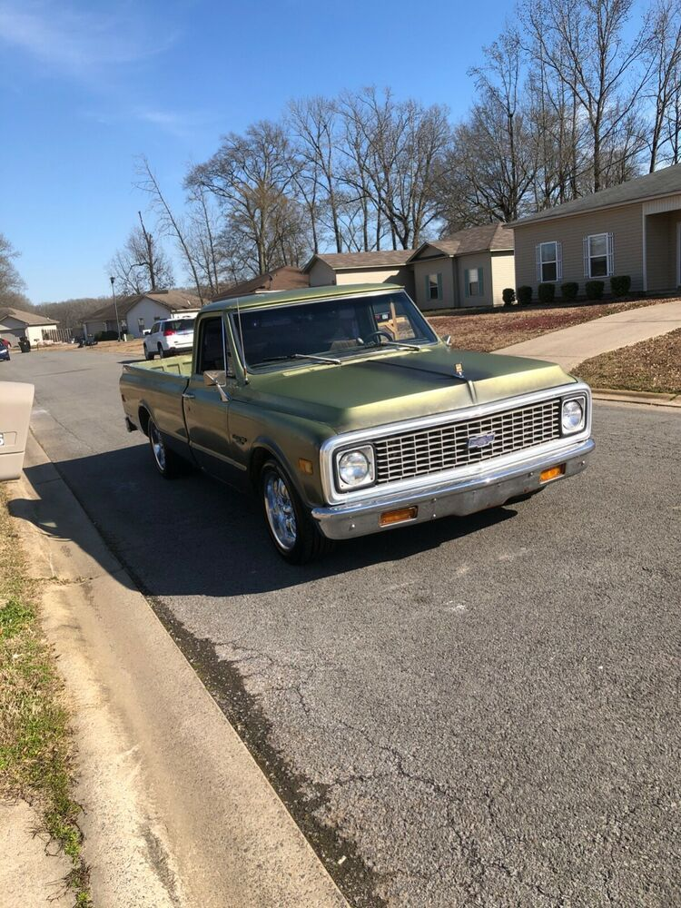 1972 Chevrolet C 10 Custom Deluxe 1972 Chevy C10 In 2020 Chevy