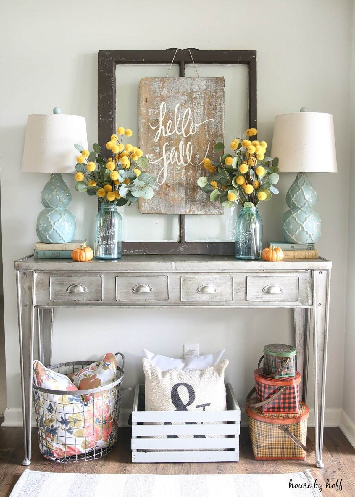 29 Lovely Farmhouse Fall Decorating Ideas that Will Warm Your Heart ...