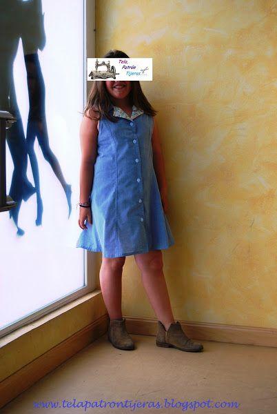 Camisero предварительно подростков летом: очень молодой DIY