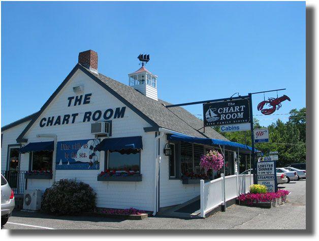 Chart Room Restaurant Bar Harbor Has An Impressive Wine List And Great Fish Lobster