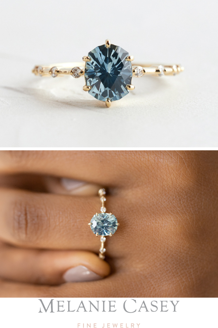 Stunning Sapphire Engagement Rings In 2020 Engagement Rings Sapphire Sapphire Engagement Ring Blue Blue Sapphire Rings