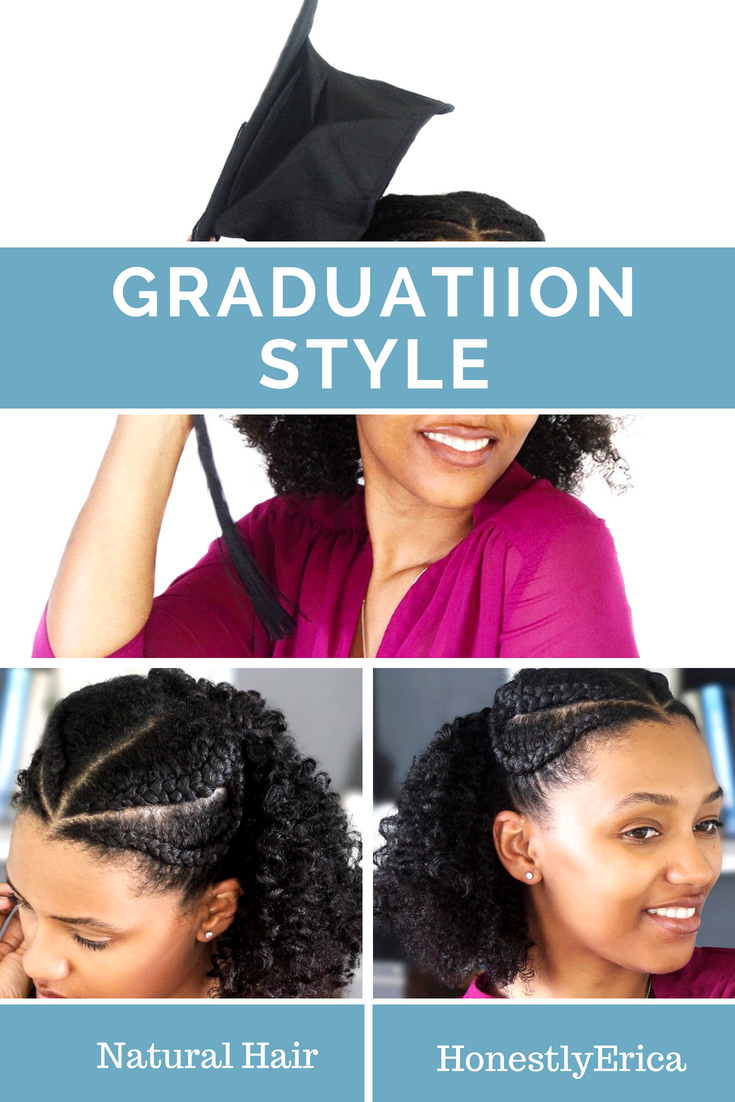 Super easy quick and cute natural hair graduation style