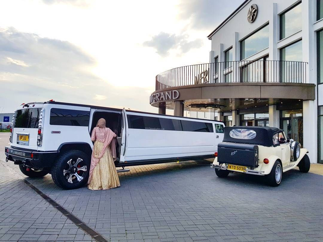 The 16 Seater Hummer H2 Limo and Beauford together are a