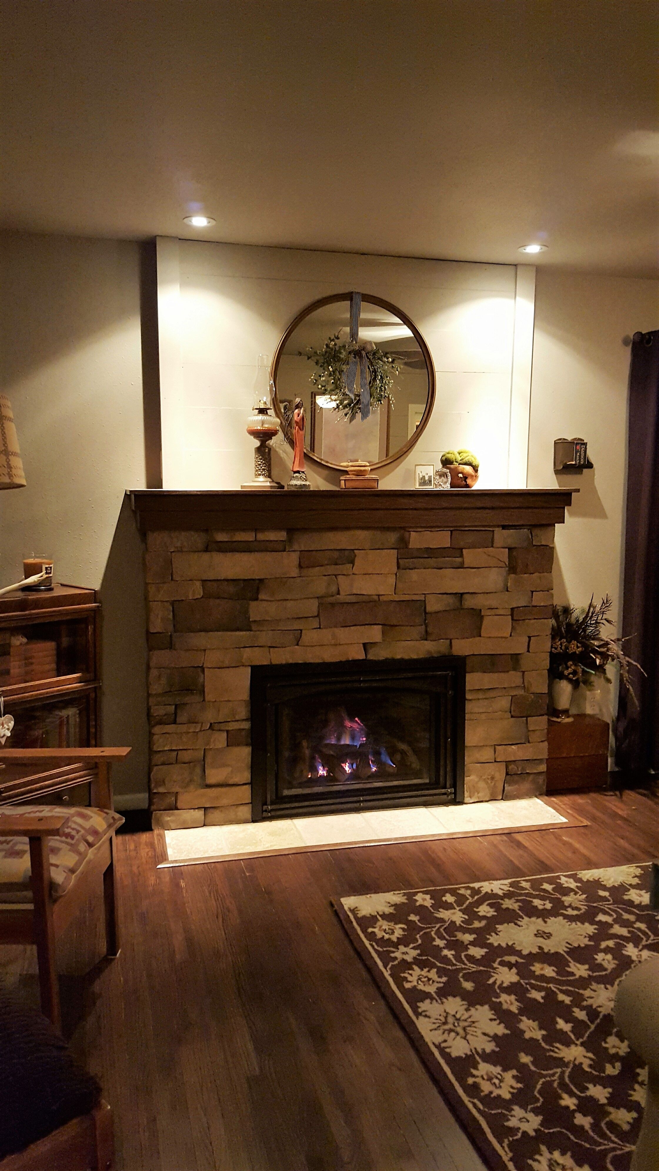 Great American Fireplace Installed This Kozy Heat Gas Insert With