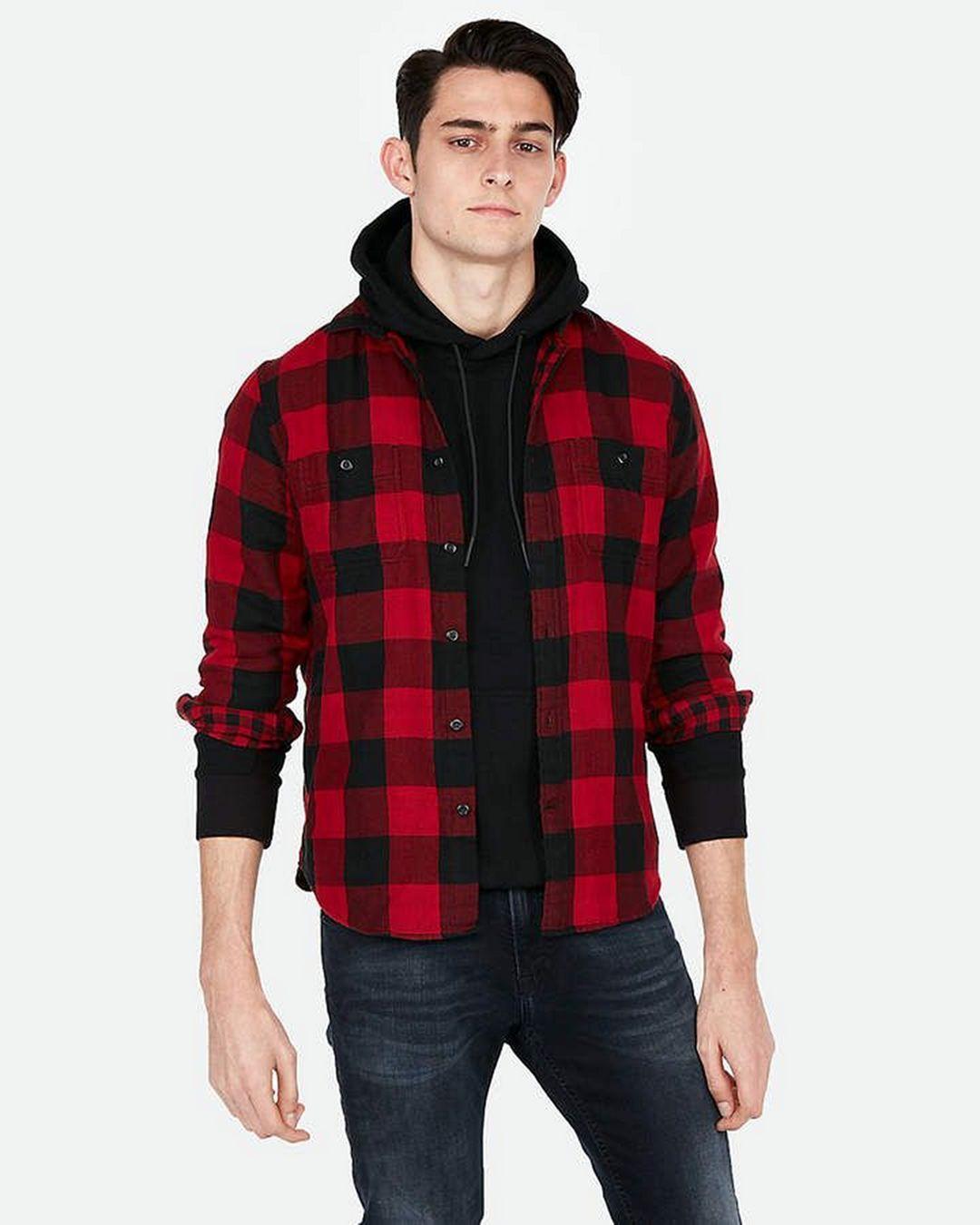 31++ Mens hooded flannel shirt ideas ideas in 2021