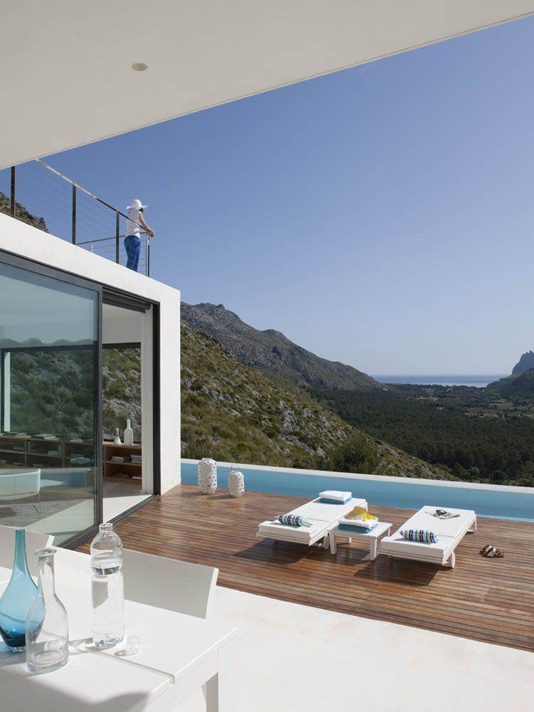 Framing Perfect Views In Every Room Solitary Casa 115 in Mallorca