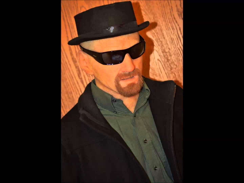Breaking Bad Walter White/Heisenberg Silicone Mask & Costume FOR ...