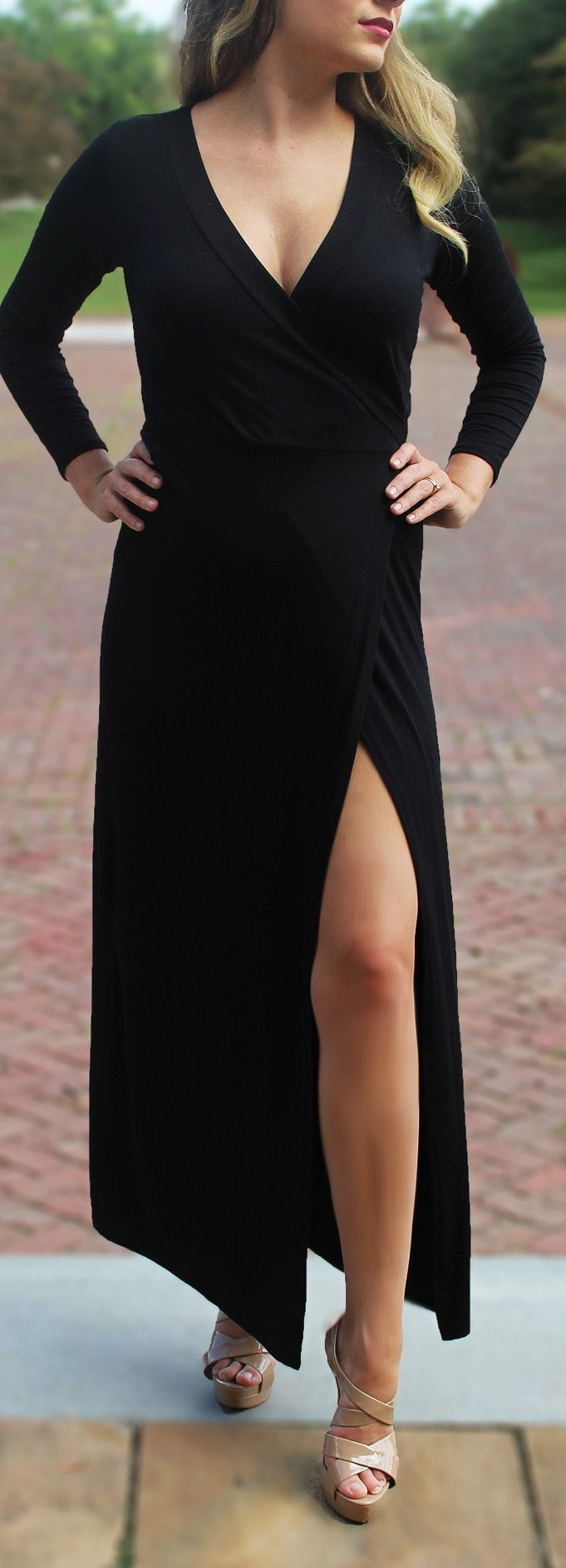 Black maxi dress with slit black maxi maxi dresses and wraps