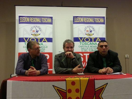 La Lega Nord ha presentato Claudio Aquilini