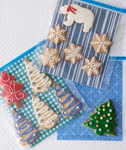 50 Ways to Package Holiday Cookies: Ideas & Inspiration for Wrapping Cookie Gifts #cookiepackaging