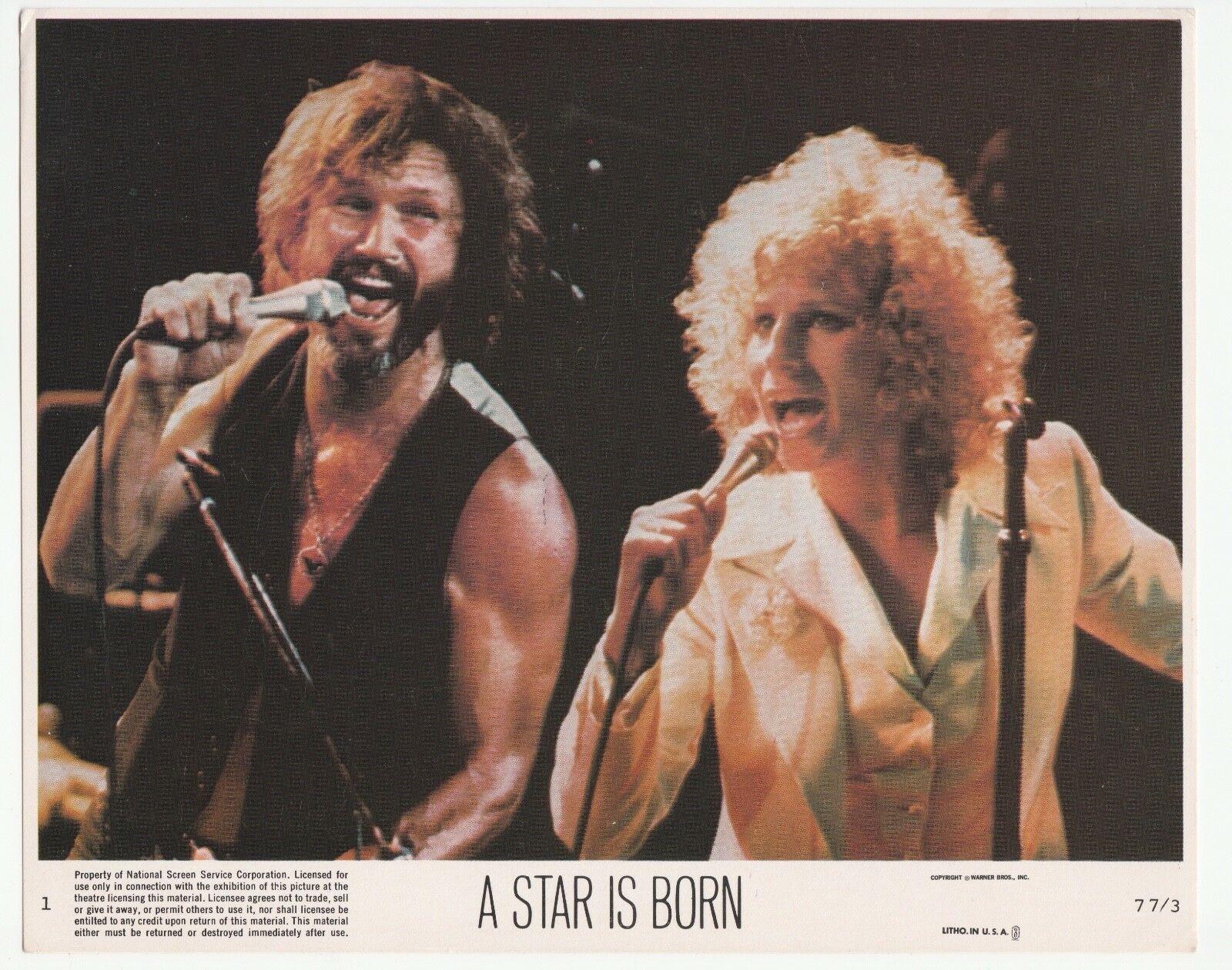 1976 A Star Is Born Barbra Streisand Kris Kristofferson Barbra