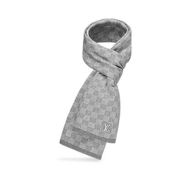 21641c63db7 Écharpe NM Petit Damier Homme Accessoires Écharpes et cravates