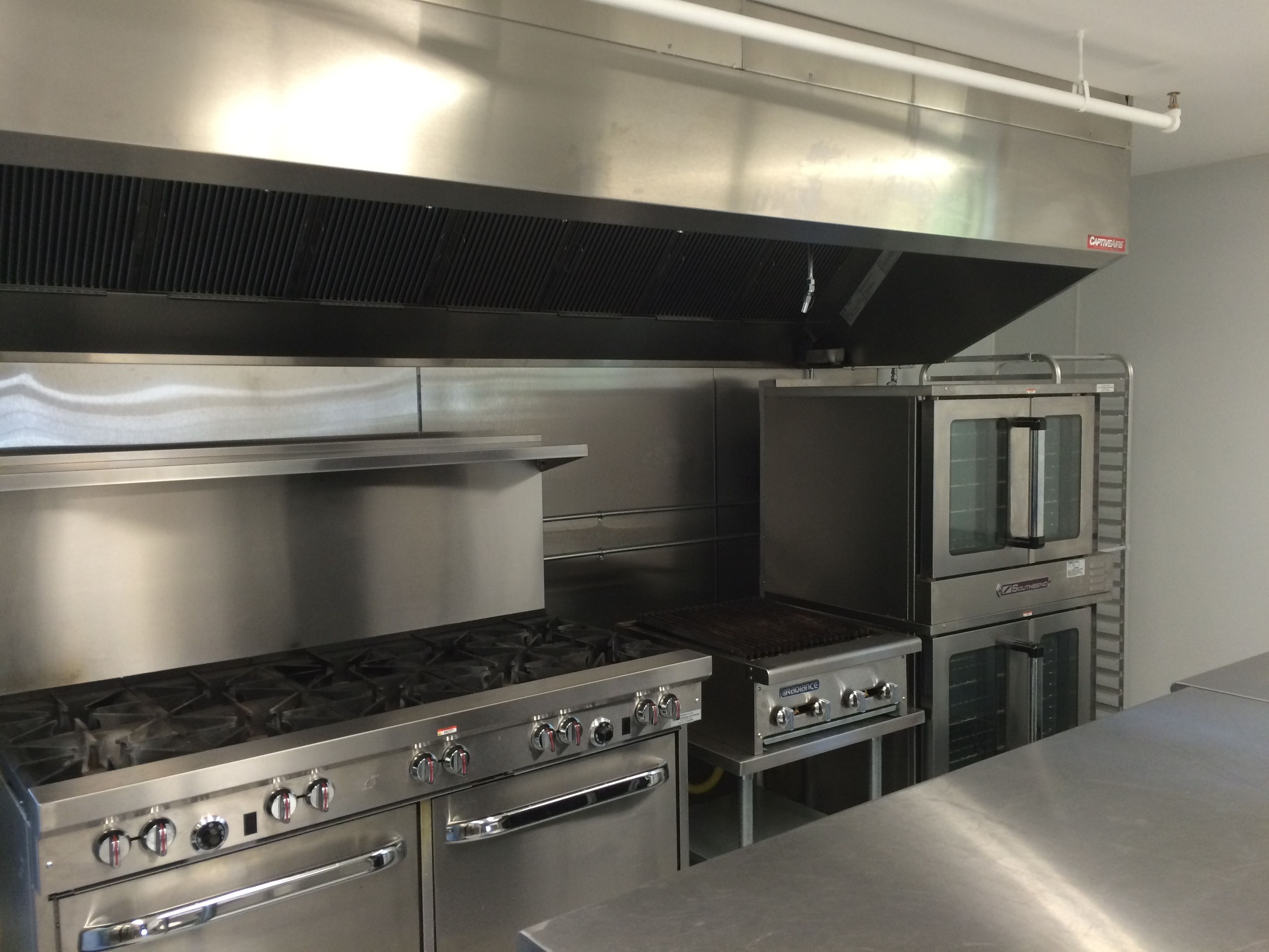 A Glimpse At Our Full Catering Kitchen In Our Wedding Barn The Celebration Barn Barn Photos Kitchen Wedding Catering