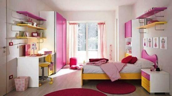 Desain Kamar Tidur Anak Perempuan Sederhana Namun Menarik Desain