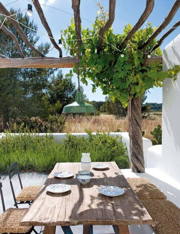 Pin de Sonia Aguer en jardin Pinterest Plantas terraza, De campo - decoracion de terrazas con plantas