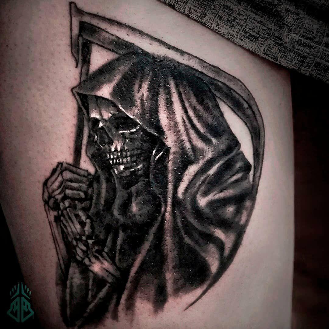 La Santa Muerte Tattoo Designs Lovely Artofblack Instagram S And Videos Tattoos Tattoo Designs Santa Muerte