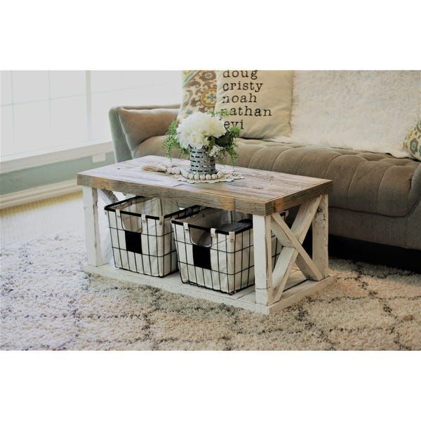 18+ Overstock farmhouse coffee table most popular