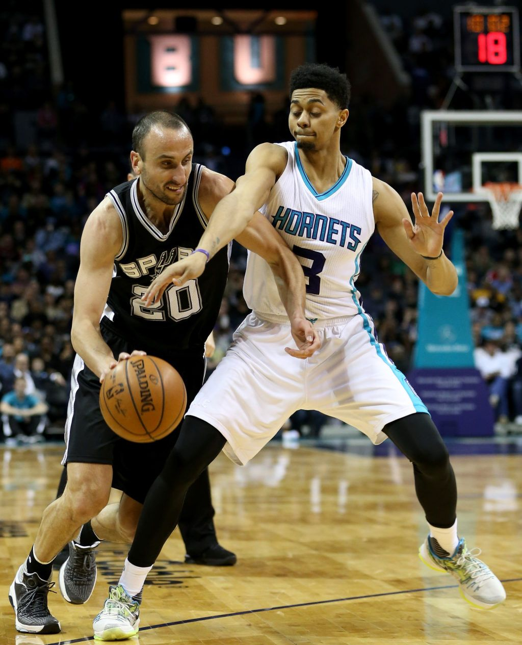 a7b1389d71d2 new style manu ginobili and jeremy lamb in a nike kd 8 id and the nike