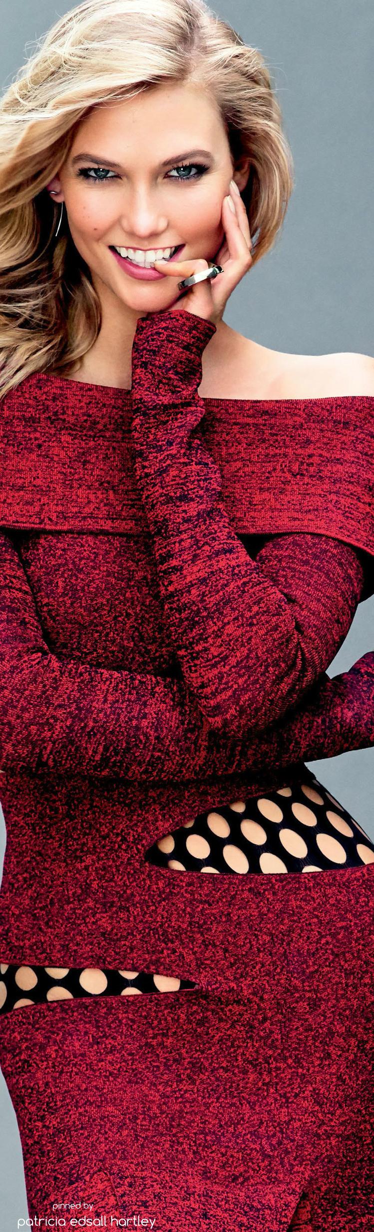 Karlie Kloss Glamour US September 2015 Fashion