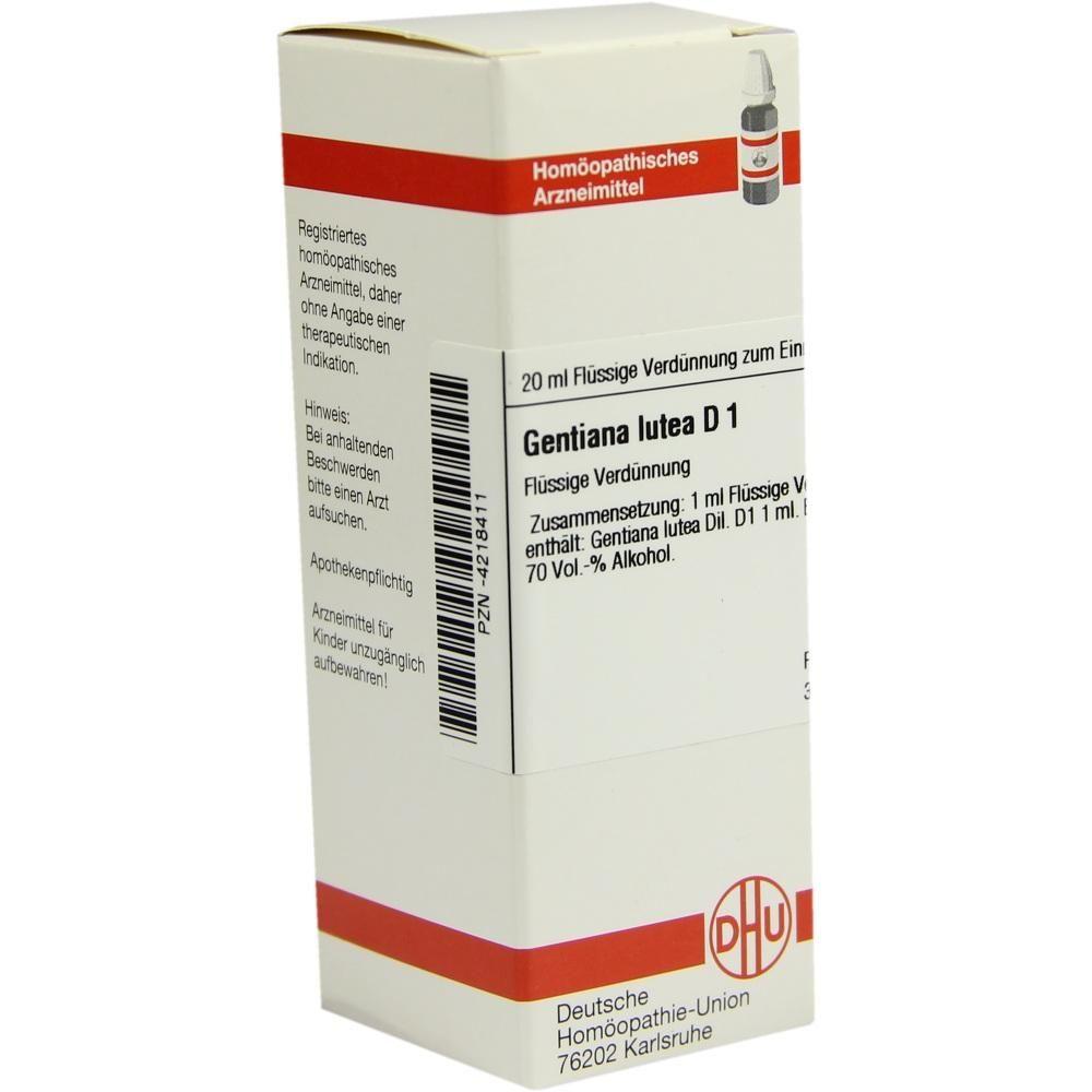 Gentiana Lutea D 1 Dilution Rezeptfrei Im Shop Der Pharma24 Apotheken Biochemie Chemie Und Alkohol