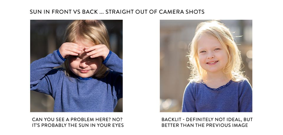 Photoshop Actions for Photographing in Bright Sun